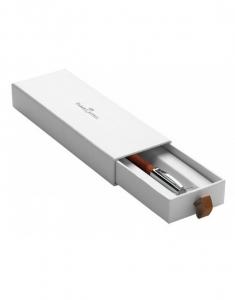 Creion Mecanic 1.4 mm E-Motion Pearwood / Maro Deschis Faber-Castell2