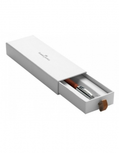 Creion Mecanic 1.4 mm E-Motion Pearwood/Maro Inchis Faber-Castell2