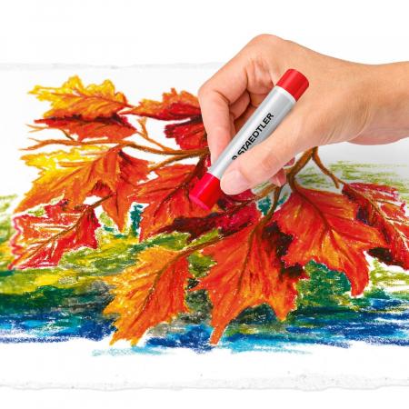 Creioane Karat Ulei Pastel 24 culori/set Staedtler [5]