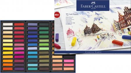 Cutie Creioane Pastel Soft Mini 72 culori Faber-Castell [1]