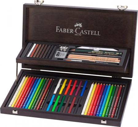 Cutie Lemn Art&Graphic 54 Buc Faber-Castell0