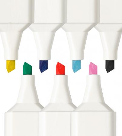 Marker Textil Verde Faber-Castell [2]
