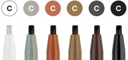 Pitt Artist Pen Caligrafie 6 buc/set Faber-Castell [1]