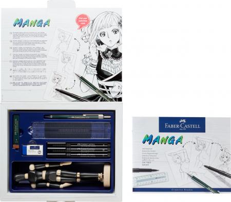 Pitt Artist Pen Manga Starter Faber-Castell2