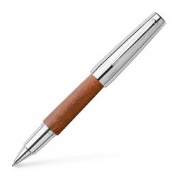 Roller E-Motion Pearwood Maro Deschis Faber-Castell0