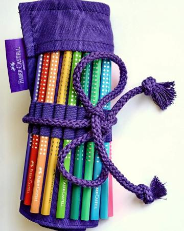 Rollup 20 creioane colorate Sparkle +1 Creion Sparkle + accesorii Faber-Castell [3]