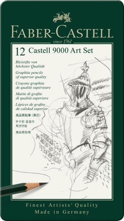 Set Arta Creion Grafit Castell 9000 Faber-Castell1