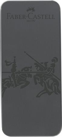 Set Cadou Stilou si Pix Grip 2011 Gri Antracit Faber-Castell1