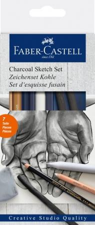 Set Desen Carbune Faber-Castell0