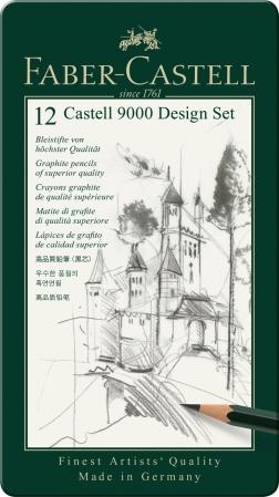 Set Design Creion Grafit Castell 9000 Faber-Castell [1]
