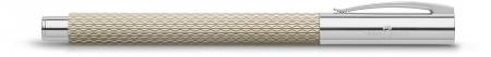 Set Promo Stilou Ambition OpArt White Sand + Agenda A6 Faber-Castell2