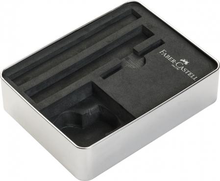 Set Stilou + Pix Neo Slim Metal Black Rosegolden Faber-Castell [5]