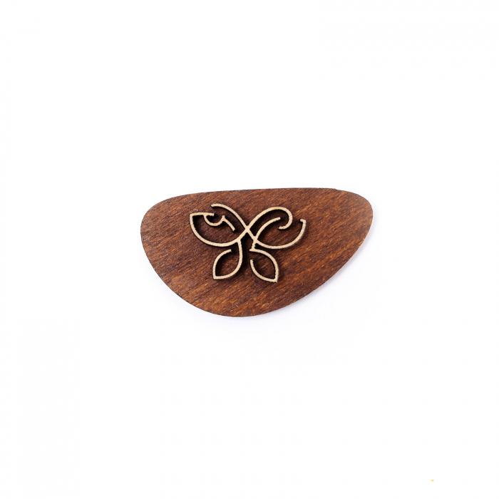Martisor Fluture Simbol din Lemn [1]