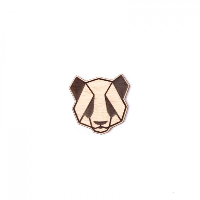 Martisor Panda din Lemn [1]