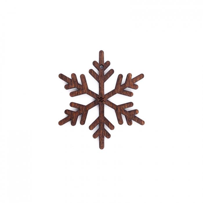 Set Decoratiuni Festive pentru Bradul de Craciun din Lemn [3]