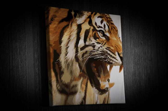 Tablou Canvas - Animation Tiger [1]