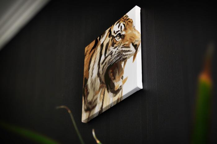 Tablou Canvas - Animation Tiger [3]
