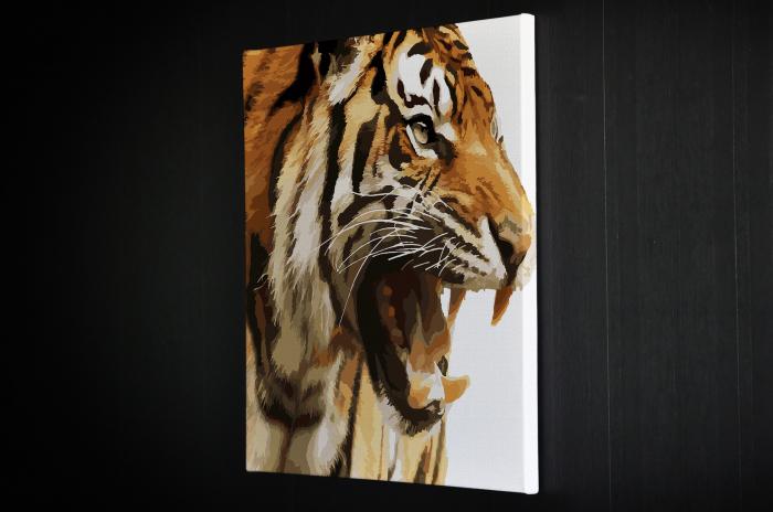 Tablou Canvas - Animation Tiger [4]
