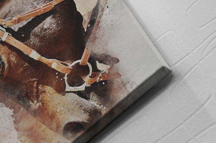 Tablou Canvas - Painted Horse [1]