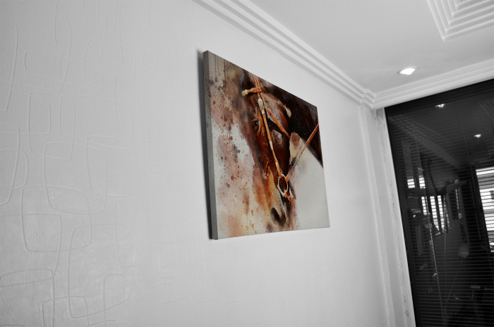 Tablou Canvas - Painted Horse [4]