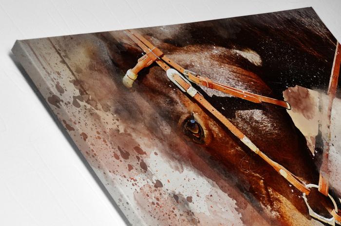 Tablou Canvas - Painted Horse [3]