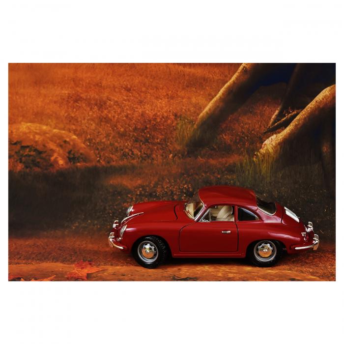 Tablou Canvas - Red Car [0]