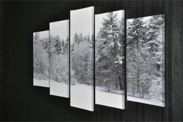 Tablou Multi-Canvas Winter View [3]