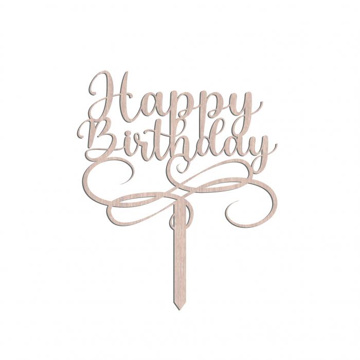 Cake_Topper_Happy_Birthday_cadou din lemn [0]