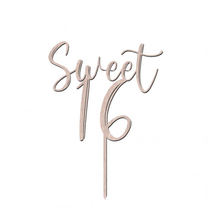 Cake_Topper_Sweet_16_cadou_din_lemn [0]