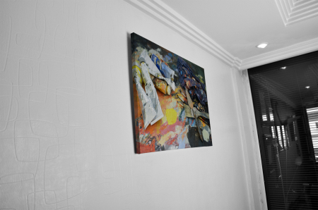 Tablou Canvas - Ready to paint [4]