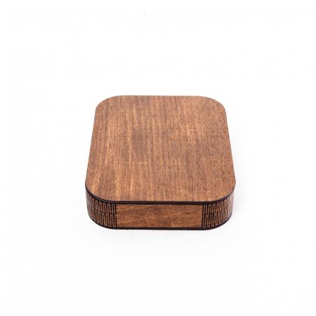 Cutie Cadou cu Suport din Lemn pentru Fotografii 10x15cm Personalizabila [2]