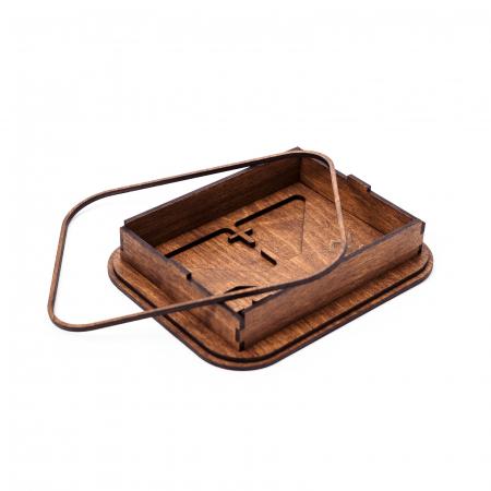 Cutie Cadou cu Suport din Lemn pentru Fotografii 10x15cm Personalizabila [4]