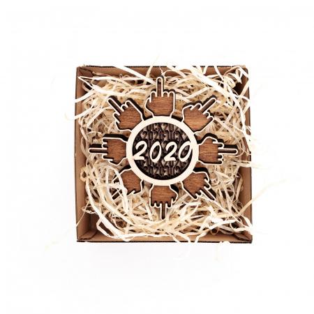 Decoratiune de Brad 2020 F*ck Flake 2020 [3]