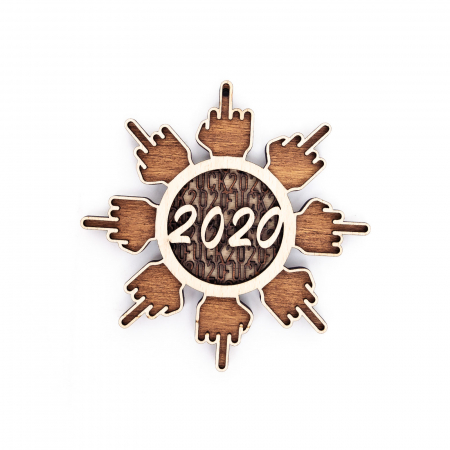 Decoratiune de Brad 2020 F*ck Flake 2020 [0]
