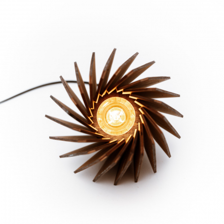 Lampa_Lemn_Hexagonala_decorativa_artizanala_cu bec LED [1]