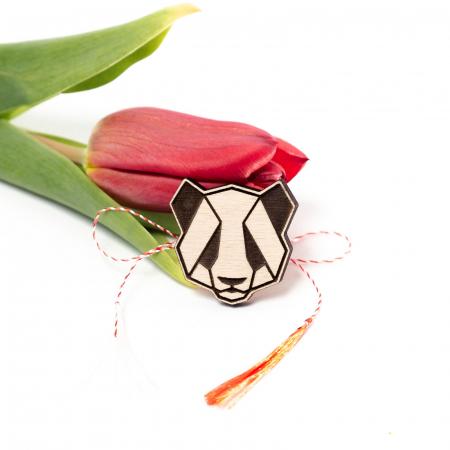 Martisor Panda din Lemn [0]