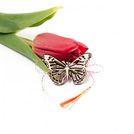 Set 3 Martisoare din Lemn Fluture [1]