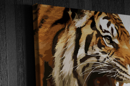 Tablou Canvas - Animation Tiger [2]