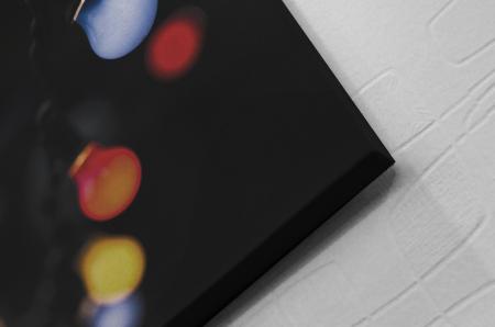 Tablou Canvas - Colored Bulbs [1]