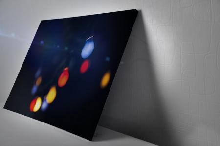 Tablou Canvas - Colored Bulbs [2]