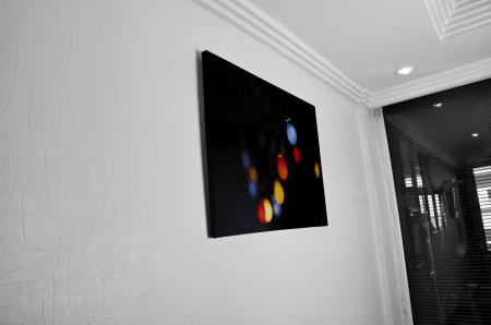 Tablou Canvas - Colored Bulbs [4]