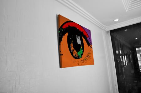 Tablou Canvas  - POP ART EYE [4]