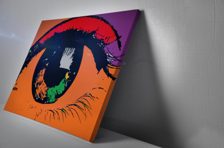 Tablou Canvas  - POP ART EYE [2]