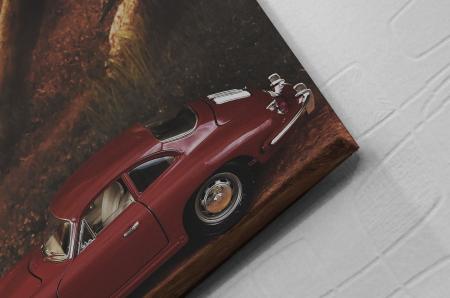 Tablou Canvas - Red Car [1]