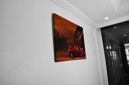 Tablou Canvas - Red Car [4]