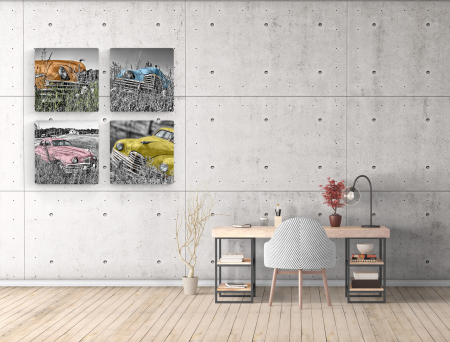 Tablou Multi-Canvas Old Cars Gallery [1]