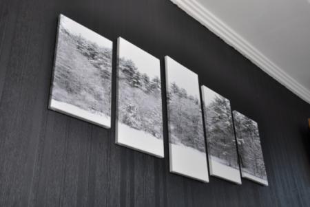 Tablou Multi-Canvas Winter View [4]