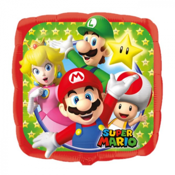 Balon folie Super Mario Bros 43cm 0026635320085 0