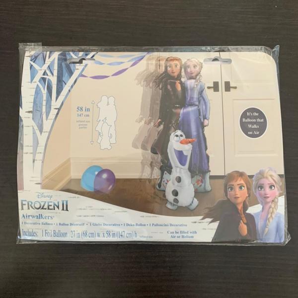 Balon folie Airwalker Frozen 2 Ana Elsa Olaf 147 cm 0026635403924 1