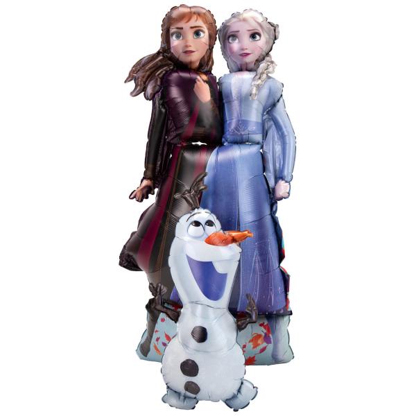 Balon folie Airwalker Frozen 2 Ana Elsa Olaf 147 cm 0026635403924 0